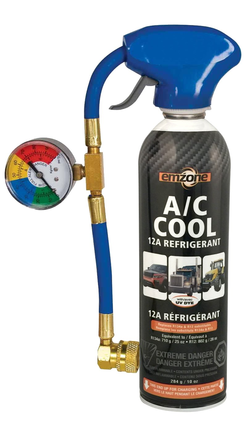 12a Refrigerant recharge Easy Fill (284g/10oz) (R134 substitute) Emzone