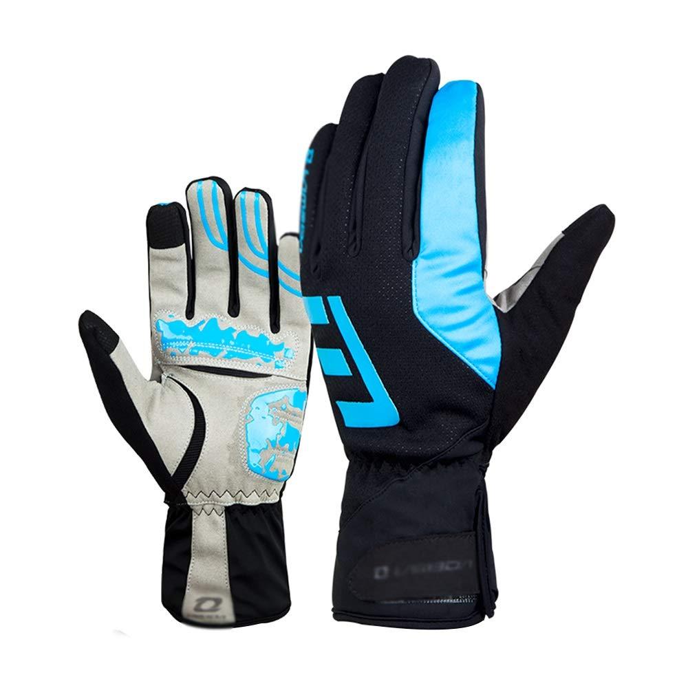 Lyq&ydst Handschuhe, Outdoor Radfahren Ski-Handschuhe Anti-Rutsch-warme Handschuhe Männer & Frauen, Touch-Screen-Sport-Handschuhe