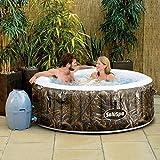 Realtree SaluSpa MAX-5 AirJet 4 Person Portable Inflatable Hot Tub Spa