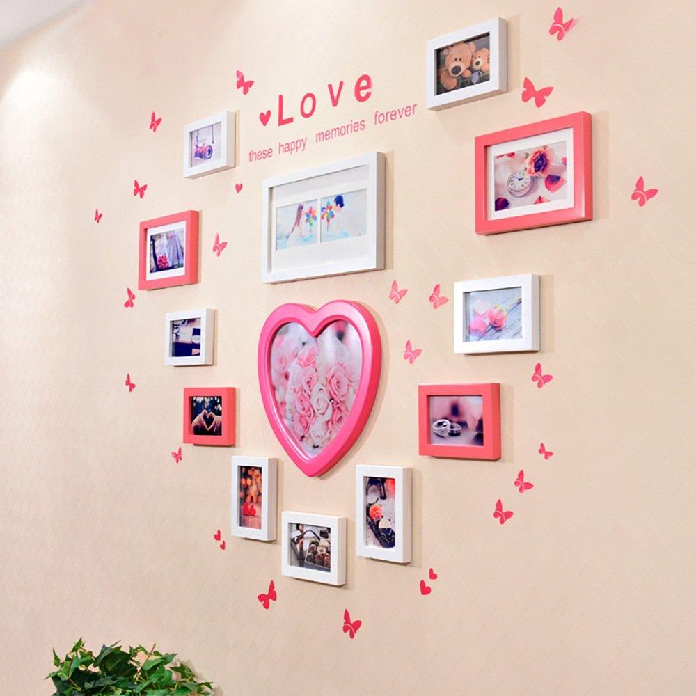 G-Y Fotowand, Kreative Kombination Hochzeit An Der Wand Montiert ...