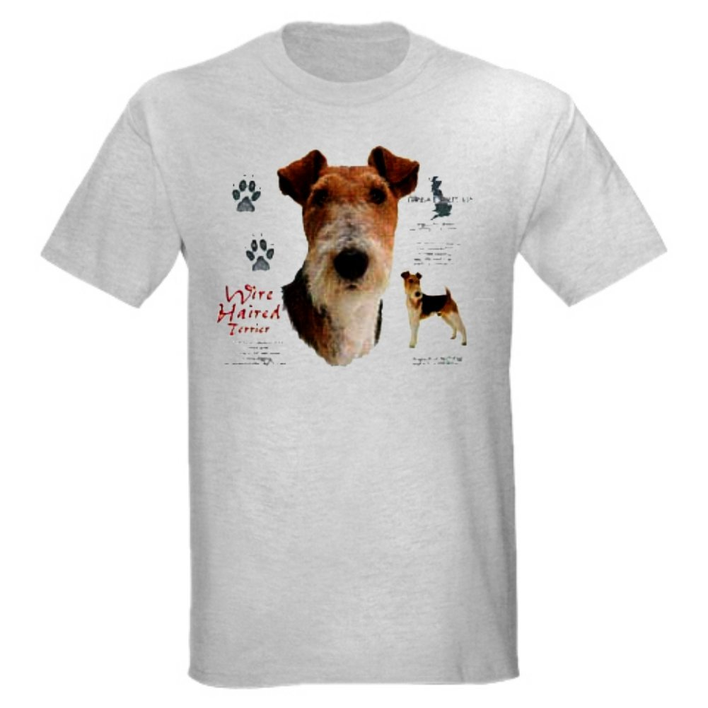 Amazon.com: Fox Terrier Wire haired T-Shirt: Clothing