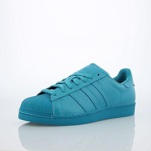Adidas Kids Superstar Supercolor LABGRN S31607 6.5: Amazon