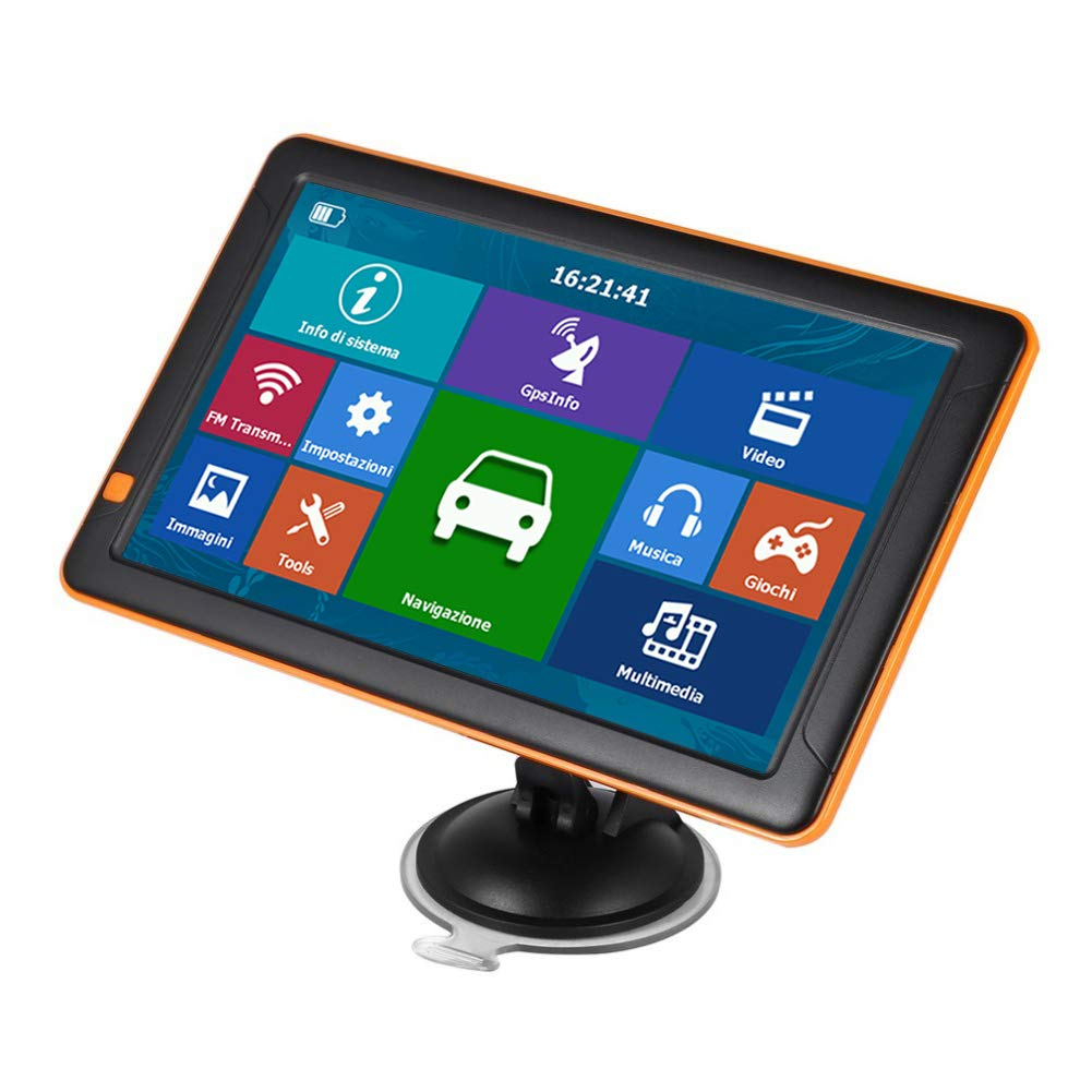 FairOnly 256MB+8G Universal 9 Inch Hd GPS Car Navigation Vehicle GPS Automobile Navigator T19 Southeast Asia map by FairOnly