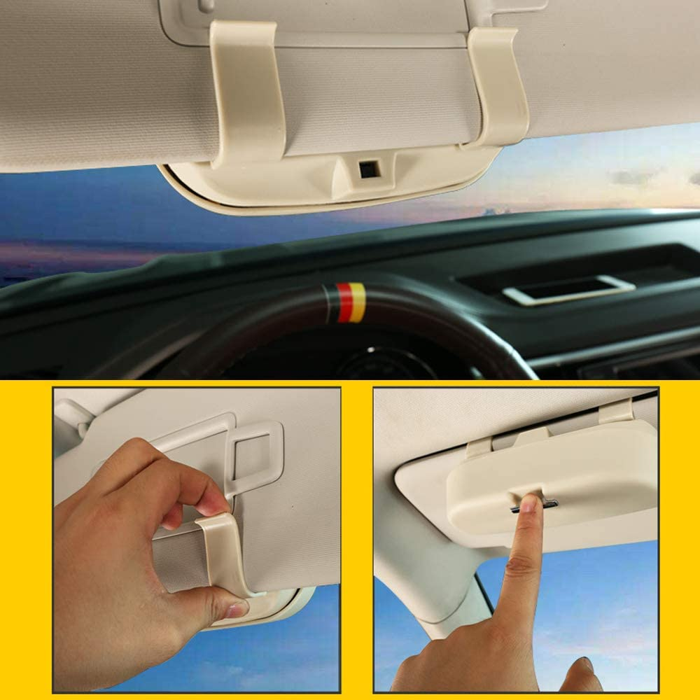 /étui de Rangement pour Lunettes de Soleil Poches de Rangement pour Renault Duster Festnight /Étui /à Lunettes