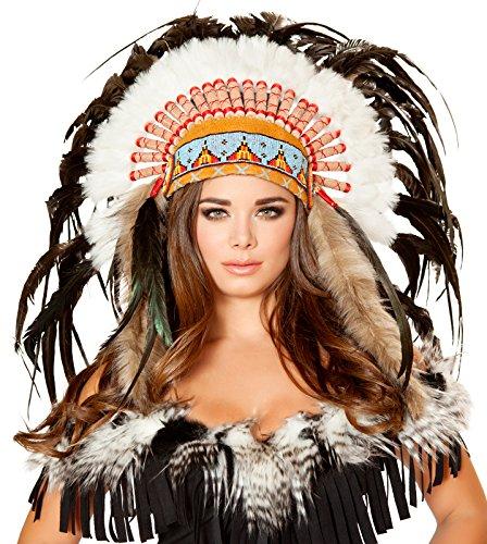 Roma Costume Women's Native American Headdress, Multi, One Size