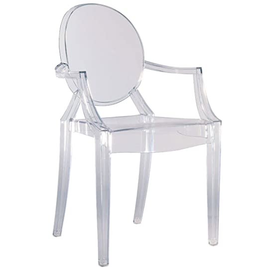 Kartell 4852B4 Chaise Louis Ghost (Transparent): Amazon.Fr