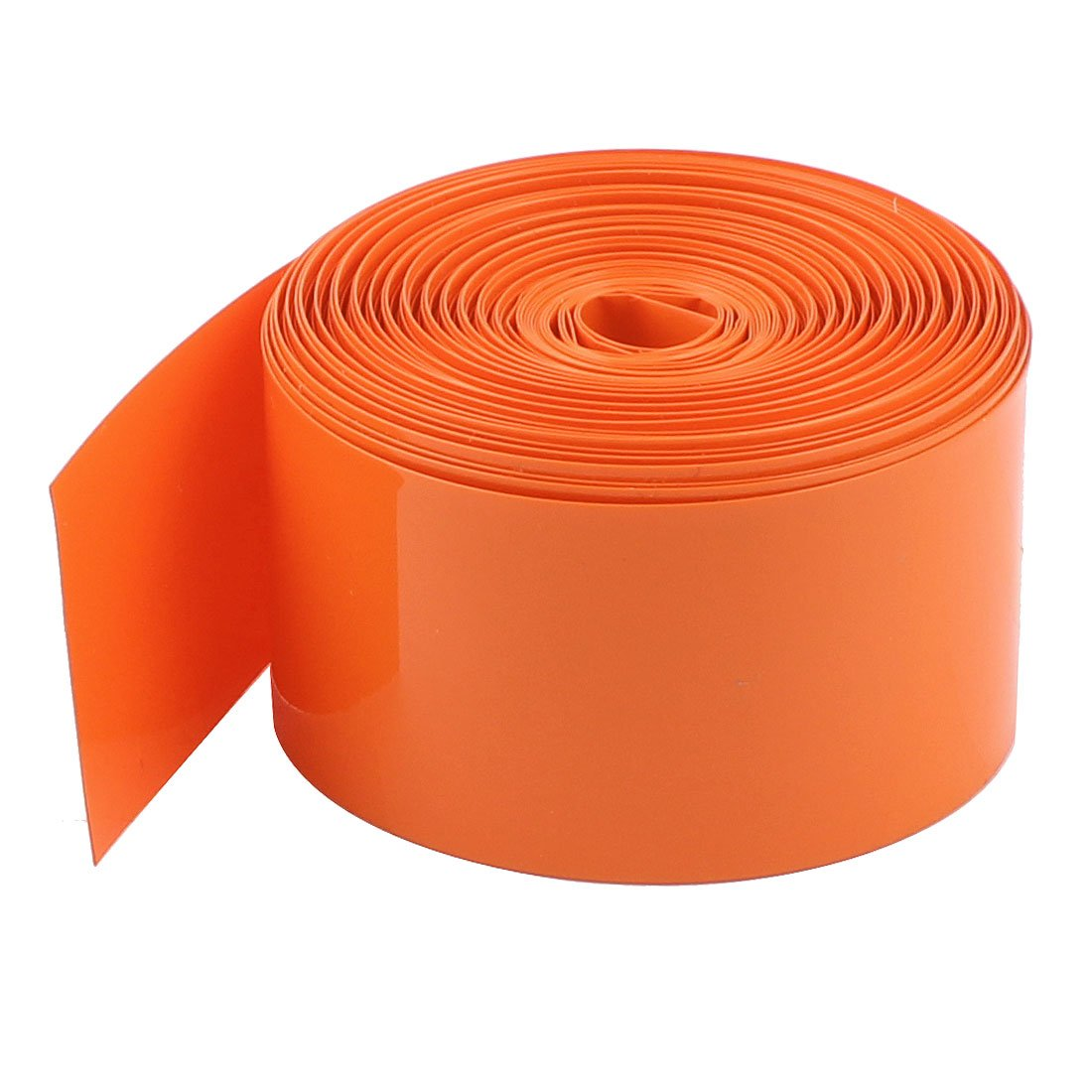 Uxcell PVC Heat Shrink Tubing Wrap, 10 m, 33' for 18650 Battery, 29.5 mm, Orange 33' for 18650 Battery a15012900ux0424