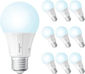 Sengled Smart Bulb, Smart Daylight Bulbs That Work with Alexa, Google Home, E26 Led Bulb 60 Watt, A19 Dimmable Smart Bulb, 800LM, Smart Hub Required, 10 Pack