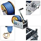 Honesty Hand Crank Strap 10m Rope 3200lbs Load Boat
