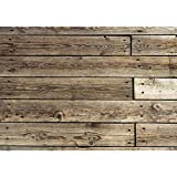 Rustic Wood Real Faux Floor Area Mat
