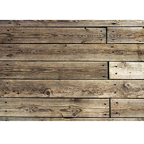 Rustic Wood Real Faux Floor Area Mat
