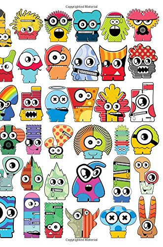 Pdf Education Cute Little Monsters Lined Notebook: 108 ruled pages. White paper. Soft cover. 6 x 9'. Colorful Design for Children, Tweens, or Teens, Boys & Girls, ... (Gifted Young Junior Memo) (Volume 1)