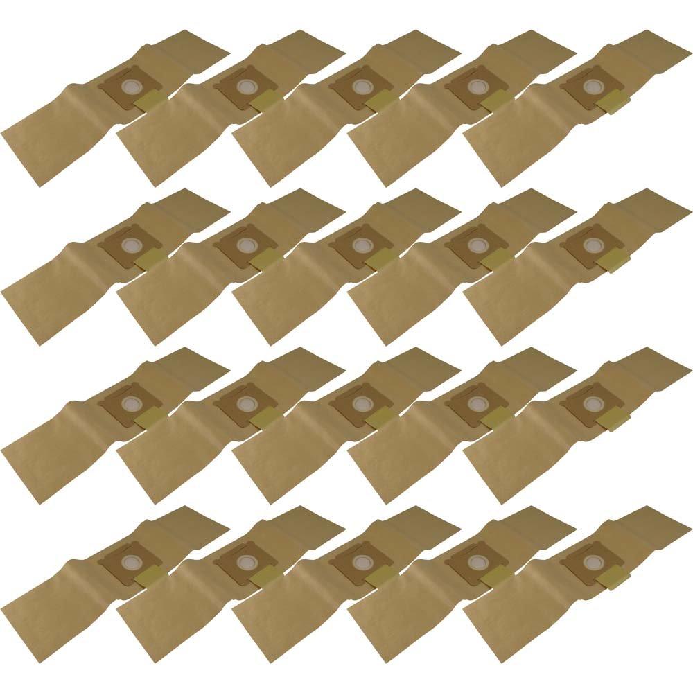 10Sacs d'aspirateur en papier Compatible avec résistant aux chocs Tennant V5 CLG3X