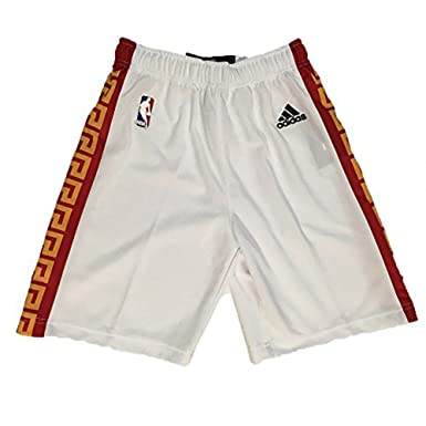 Golden State Warriors Adidas Youth 2017 Chinese New Year White Shorts  (Small) 20229aff4