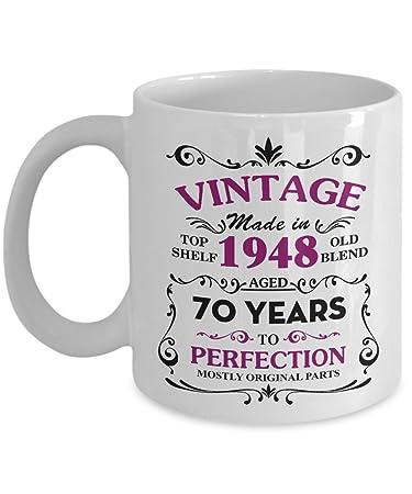 Funny 70 Birthday Mugs For Grandma 11 OZ