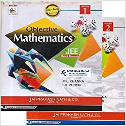 objective mathematics for jee main advanced 2 volumes amazon in