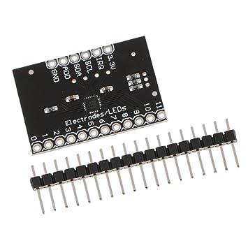 Baoblaze MPR121 Breakout capacitiva Tocar mpfindliche Módulo Teclado para Arduino DIY: Amazon.es: Electrónica