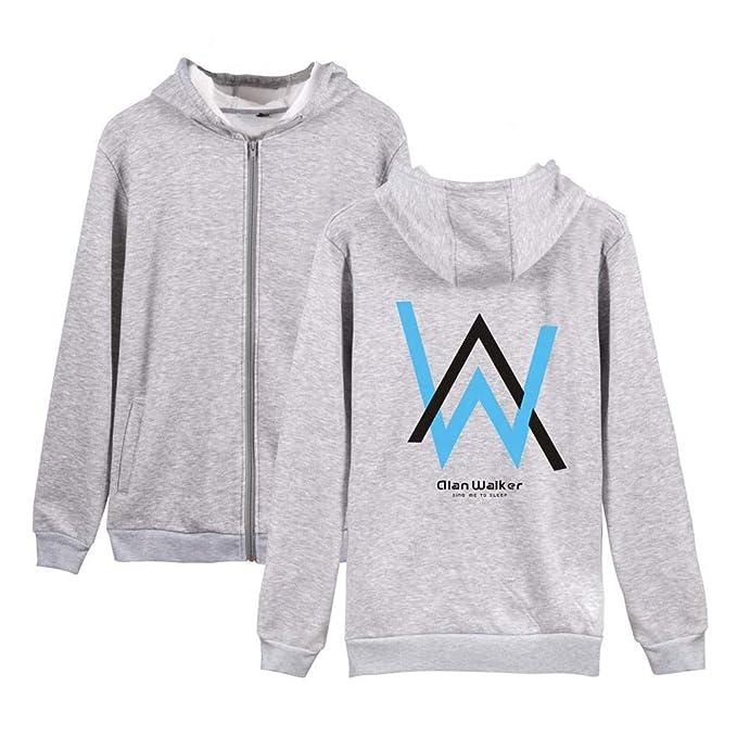 BESTHOO Alan Walker Caída Invierno Hoodie Jacket Coat Outwear Ocasionales Sudaderas Fashion Jacket Coat Outwear: Amazon.es: Ropa y accesorios
