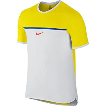 4db982527a6a4 Nike Challenger Premier Rafa Crew Men's T-Shirt: Amazon.co.uk ...