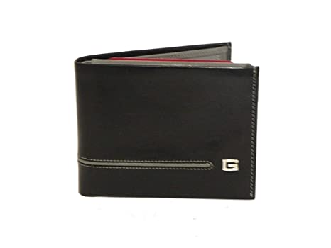 comprare popolare 99b06 713df Portafoglio Giudi uomo portamonete 6954/GD PD nero/grigio ...