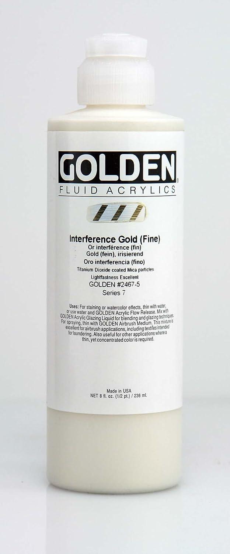 Golden アクリル 液体カラー 8 oz cylinder ゴールド AG2362467 B005SBHMUW 8 oz cylinder|interference gold interference gold 8 oz cylinder