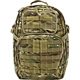 5.11 RUSH24 Military Tactical Backpack, Molle Rucksack Bug Out Bag, Medium, Style 58601, MultiCam