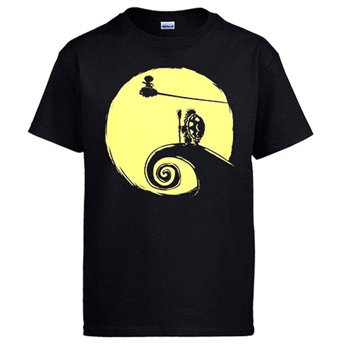 Diver Camisetas Camiseta Dragon Ball Goku y Mutenroshi Pesadilla Antes de Navidad: Amazon.es: Ropa y accesorios