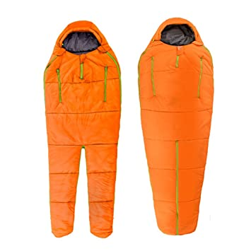 QFFL shuidai Saco de Dormir Humanoid Sleeping Bag Adult Outdoor Travel Camping Ultra Light Saco de Dormir portátil Indoor Winter Thick Warm Cotton Saco de ...