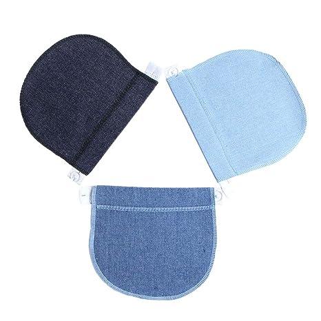 ee171ed16 Healifty 3 Piezas Extensores de Cintura de Embarazo Alargador de Cintura  Extensor de Cintura para Mujeres