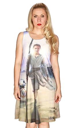 4a054a20d06 Her Universe Women's Star Wars Rey Swing Dress