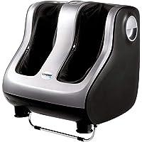 Livemor Foot Massager 3D Ankle Calf Leg Shiatsu Kneading Rolling Heating Machine 4 Motors Auto Shut-Off Timer 3…