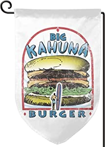 Newte Thisbig Kahuna Burger Garden Flag is Very Durable and is Used for Outdoor Decoration of Houses.