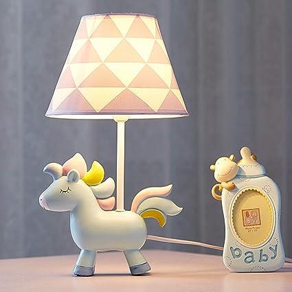 EFGS LED Cartoon Mesa lámpara Lámpara de Mesa para niños ...