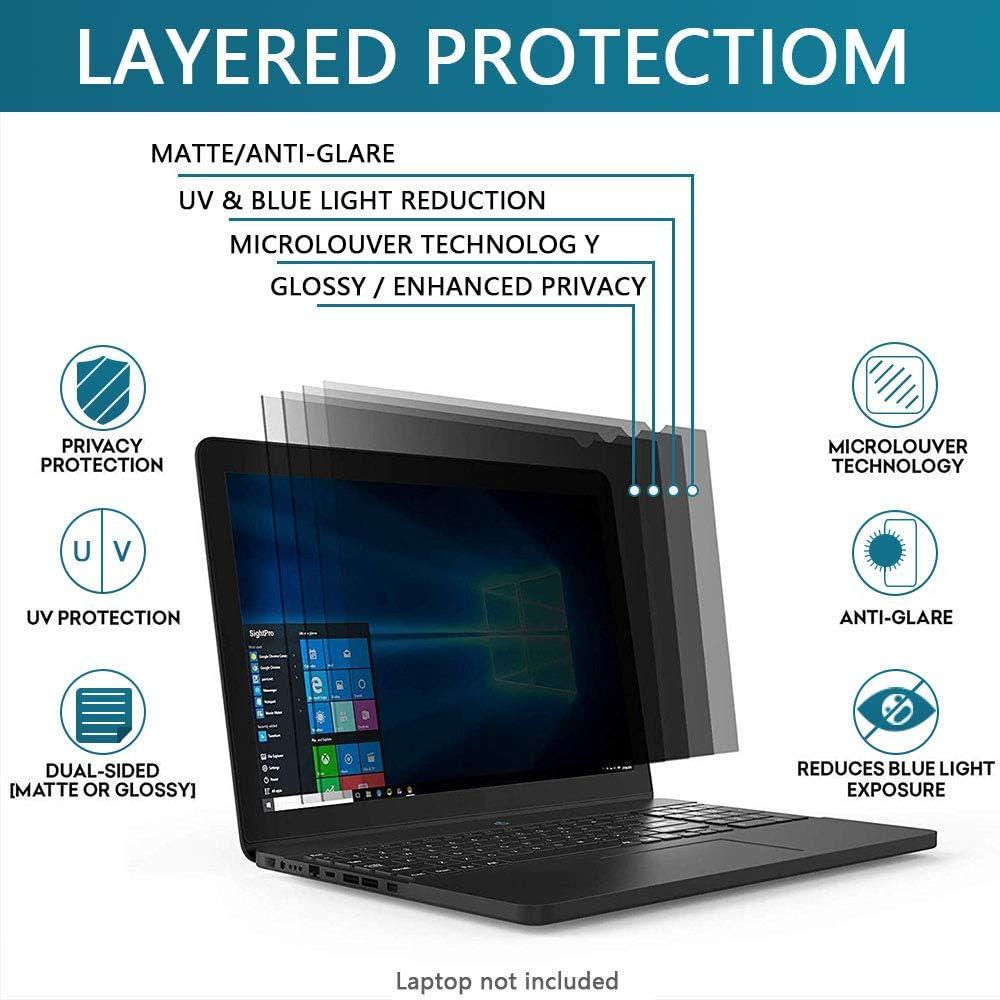 FiiMoo Filtre de Confidentialit/é Premium 12.5 Pouces,16:9 12.5 Notebook Privacy Filtre Protecteur d/écran de confidentialit/é pour Ordinateur Portable /& Moniteur,