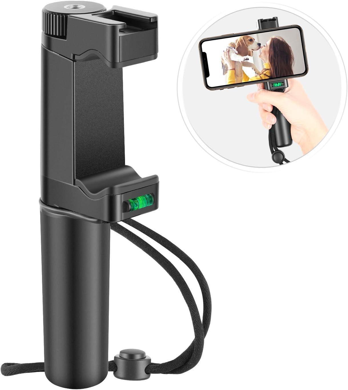 Neewer Pro Smartphone Rig Cineasta Grip de Mano(8cm) Montaje para ...