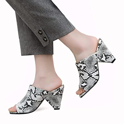 4870720888a0a Amazon.com: wetkiss Snakeskin Booties Snake Print Ankle Boots ...