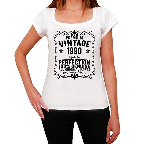 1990 camiseta mujer cumpleaños camisetas camiseta regalo