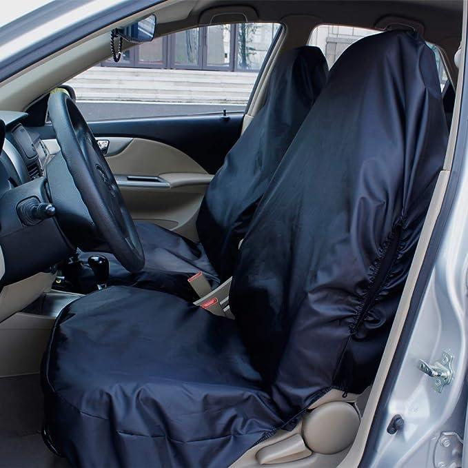 Schwarze Sitzbezüge für Alle MAZDA Autos Autositzbezug VORNE