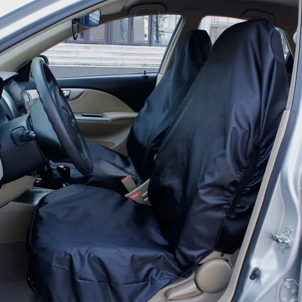 UNIVERSAL WATERPROOF SEAT COVER PROTECTOR CAR VAN HEAVY DUTY TOP QUALITY