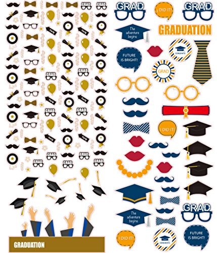 Polaroid Colorful Decorative Graduation Stickers