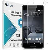 HTC ONE A9 Cristal Templado,Vikoo 9H 2.5D 0.26m Ultra Delgado Shatterproof Protector de pantalla de Vidrio Templado HD Flim Tempered Glass Screen Protector para HTC ONE A9