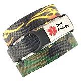3 Bracelet Value Pack | Nut Allergy, Medical
