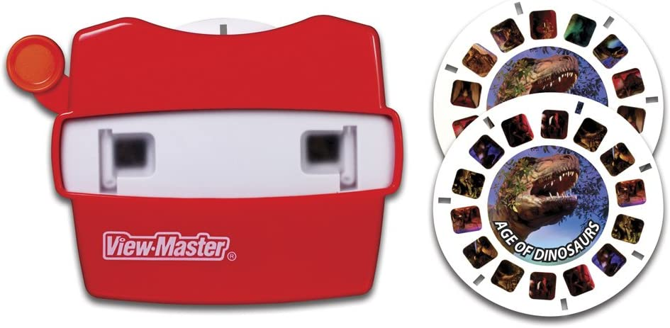2 3D Reels View NEW Discovery Kids AGE OF DINOSAURS View-Master SET Viewer