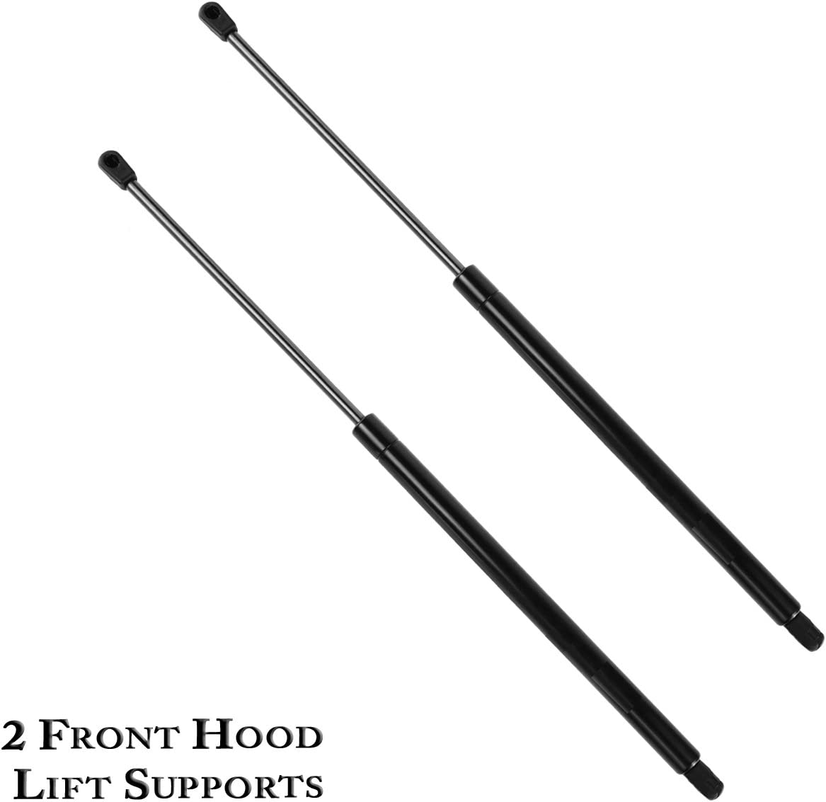 2 Pack Front Hood Lift Support Struts Gas Springs for 2002-2010 Dodge Ram 1500 2500 3500 2008-2010 Dodge Ram 4500 5500 Compatible with 4364 Struts
