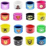 Forwin 16 Super-héros Dragon Sacs de fête pour Les garçons Anniversaire Enfants Super-héros Party Pro Bracelet Enfant Toy