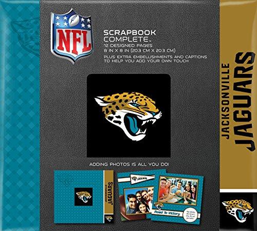 C.R. Gibson Scrapbook Complete Kit, Small, Jacksonville Jaguars (N878471M) ()