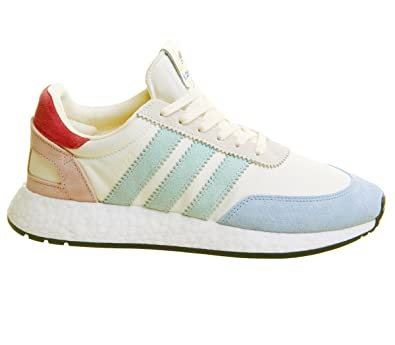 adidas Originals Sneaker I-5923 in Mesh Bianco E Pelle Multicolore White