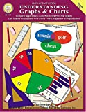 Understanding Graphs & Charts: Computer Applications, Line Plot or Dot Plot, Bar Graphs, Line Graphs, Histograms, Pie Charts, Venn Diagrams (Math Activity Book, Grades 5-8+) (Reproducible Blackline Masters)