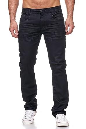 08a50ac944f617 ArizonaShopping - Jeans Pantalon en Jean pour Homme Enduit Denim H2170,  Couleurs:Noir,