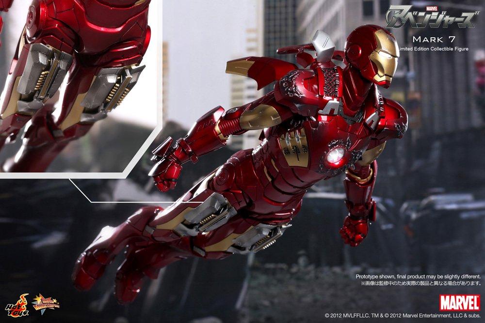 Amazonde Uk Import12 Inch Iron Man Mkvii Sixth Scale Figure The